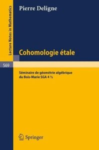 Cohomologie Etale