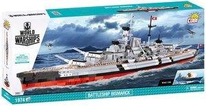 Cobi 3081 - Bismarck Schlachtschiff, World of Warships