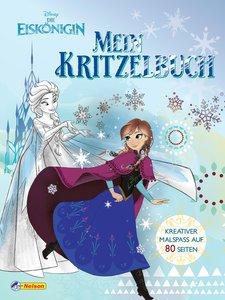 Disney Die Eiskönigin: Mein Kritzelbuch
