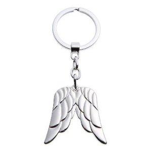 Schlüsselanhänger - Doppelter Engelsflügel