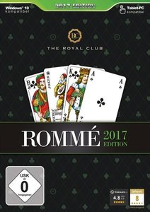 The Royal Club Rommé 2017. Für Windows Vista/7/8/8.1/10