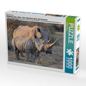 CALVENDO Puzzle Wildtierparadies Afrika - Eine Foto-Reise durch