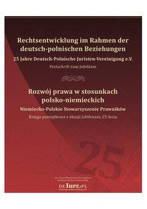 Festschrift Rechtsentwicklung im Rahmen der deutsch-polnischen