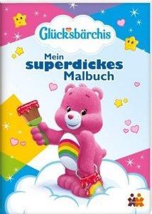 Glücksbärchis. Mein superdickes Malbuch.