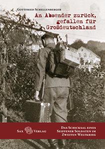 An Absender zurück, gefallen für Großdeutschland