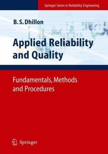 Applied Reliability and Quality