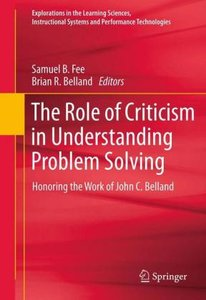 The Role of Criticism in Understanding Problem Solving