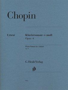 Klaviersonate c-moll op. 4
