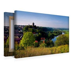 Premium Textil-Leinwand 45 cm x 30 cm quer Schönburg