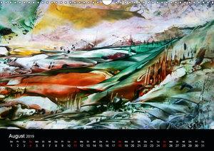 Wachs-Mal-ART encaustic Landschaften (Wandkalender 2019 DIN A3 q