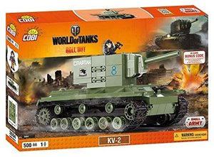 COBI 3004 - KV-2, World of Tanks, Small Army, grün