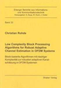 Low Complexity Block Processing Algorithms for Robust Adaptive C