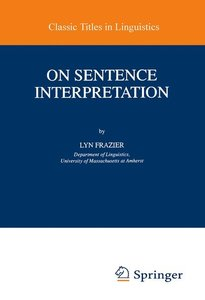 On Sentence Interpretation