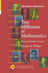 Two Millennia of Mathematics