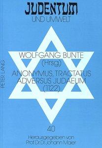 Anonymus, Tractatus adversus Judaeum (1122)
