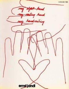 my right hand, my writing hand, my handwriting