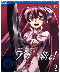 Akame ga Kill - Blu-ray Vol. 2