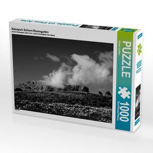 Naturpark Schlern-Rosengarten 1000 Teile Puzzle quer