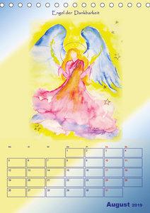 Engelhafter Kalender (Tischkalender 2019 DIN A5 hoch)
