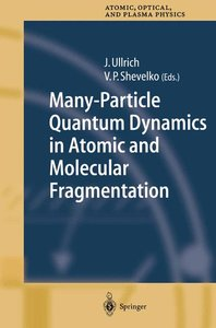 Many-Particle Quantum Dynamics in Atomic and Molecular Fragmenta