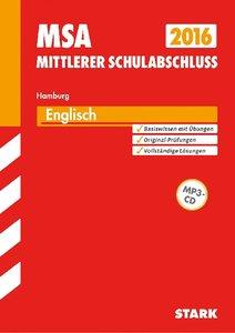 Abschluss-Prüfungsaufgaben Mittlerer Schulabschluss Englisch mit