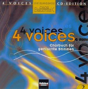 4 voices - CD Edition. Die klingende Chorbibliothek. CD 2. 1 Aud