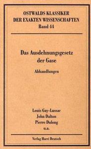 Das Ausdehnungsgesetz der Gase