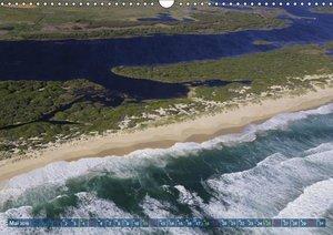 Südafrika - Küstenflug von Kapstadt bis Dyker Island (Wandkalend