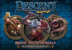Asmodee FFGD1322 - Descent 2. Edition: Krone des Schicksals, Hel