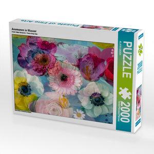 CALVENDO Puzzle Anemonen in Wasser 2000 Teile Lege-Größe 90 x 67