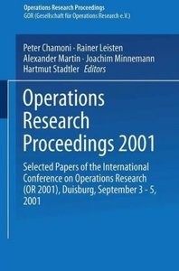 Operations Research Proceedings 2001