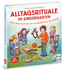 Alltagsrituale im Kindergarten, m. Audio-CD