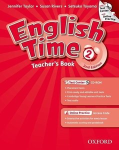 English Time 2. 2nd Edition. Teacher's Book with Test Centre & O