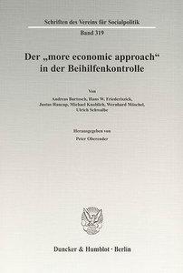 """Der """"more economic approach"""" in der Beihilfenkontrolle"""