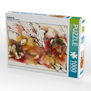 Herbstlaub 1000 Teile Puzzle quer