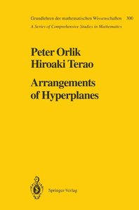 Arrangements of Hyperplanes