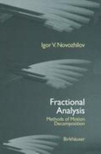 Fractional Analysis