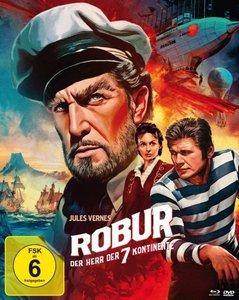 Robur - Der Herr der sieben Kontinente (Mediabook, Blu-ray + DVD