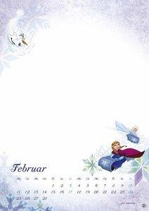 Eiskönigin Bastelkalender - Kalender 2019