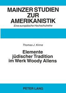 Elemente jüdischer Tradition im Werk Woody Allens