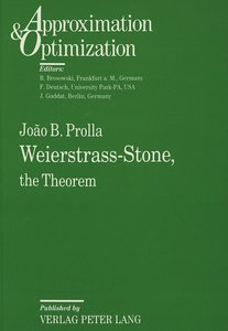 Weierstrass-Stone,