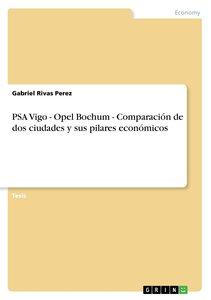 PSA Vigo - Opel Bochum - Comparación de dos ciudades y sus pilar