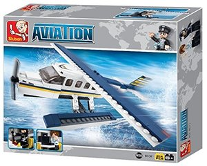 Sluban AVIATION M38-B0361 - Wasserflugzeug, 214 Teile