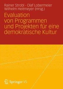 Evaluation von Programmen und Projekten für eine demokratische K