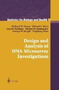 Design and Analysis of DNA Microarray Investigations