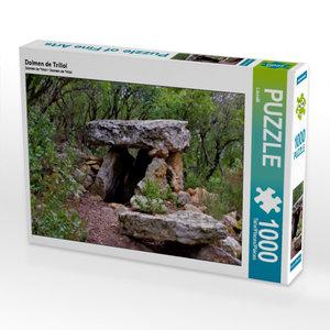Dolmen de Trillol 1000 Teile Puzzle quer