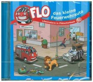 Flo - das kleine Feuerwehrauto - Löwenalarm in Plätscherbach, 1