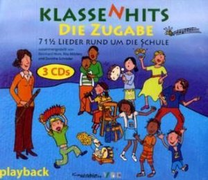 KlassenHits. Die Zugabe. Playback-CD