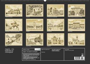 Zagreb ? Ein Kalender im Zeitungsstil