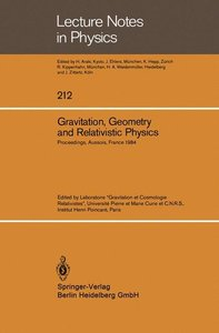 Gravitation, Geometry and Relativistic Physics